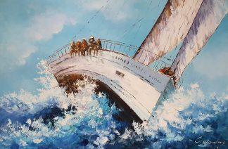 «Регата» картина 60х90 арт. 9Л085