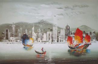 «Гонконг» картина 60х90 арт. 9Л089