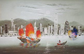 «Гонконг» картина 60х90 арт. 9Л090