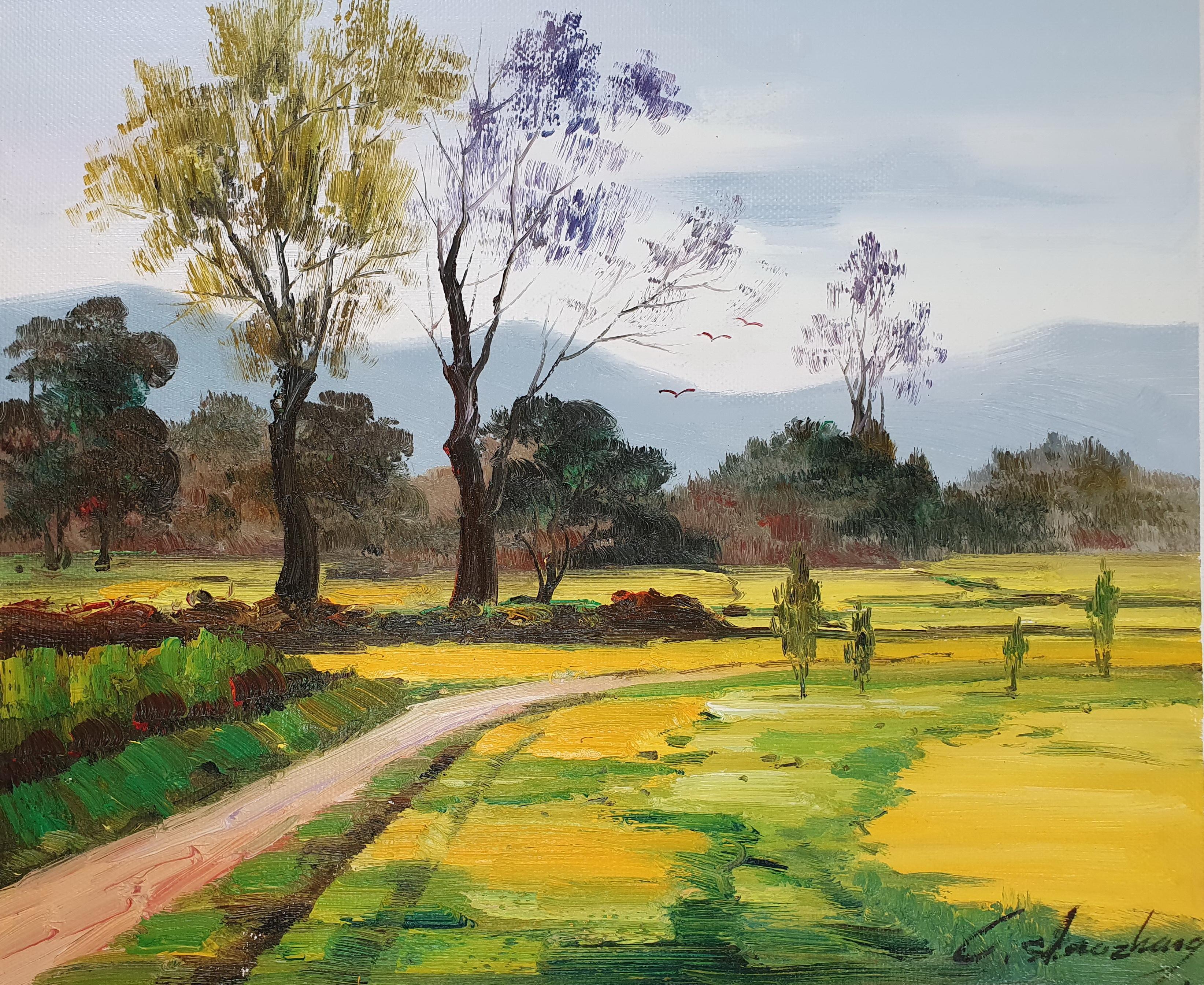 «Пейзаж» картина 50х60 арт.5п125