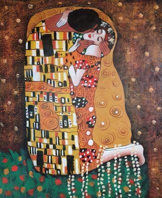 «Поцелуй Климта» картина 50х60 арт.5р106