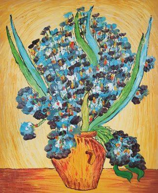 «Ирисы Ван Гога» картина 50х60 арт.5р113