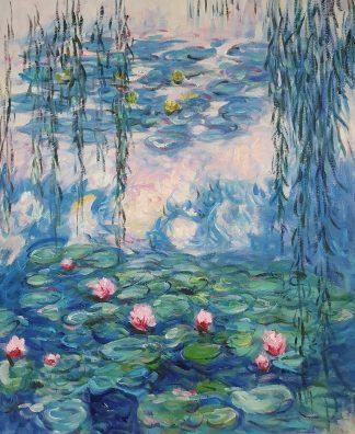 «Лилии Моне» картина 50х60 арт.5р117