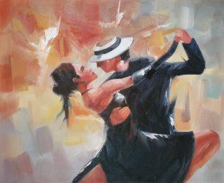 «Аргентинское танго» картина 50х60 арт.5р123