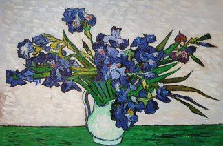 «Ирисы Ван Гога» картина 60х90 арт.9р048