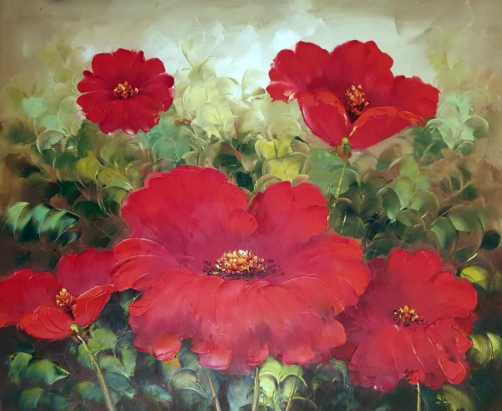 «Маки» картина 50х60 арт.5Ц228