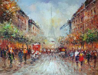 «Эйфелева башня» картина 30х40 арт.3ГР076