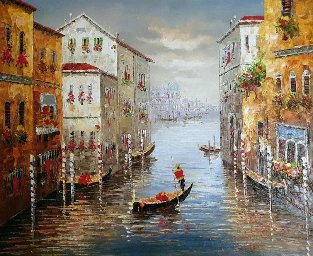 «Венеция» картина 50х60 арт.5ГР201