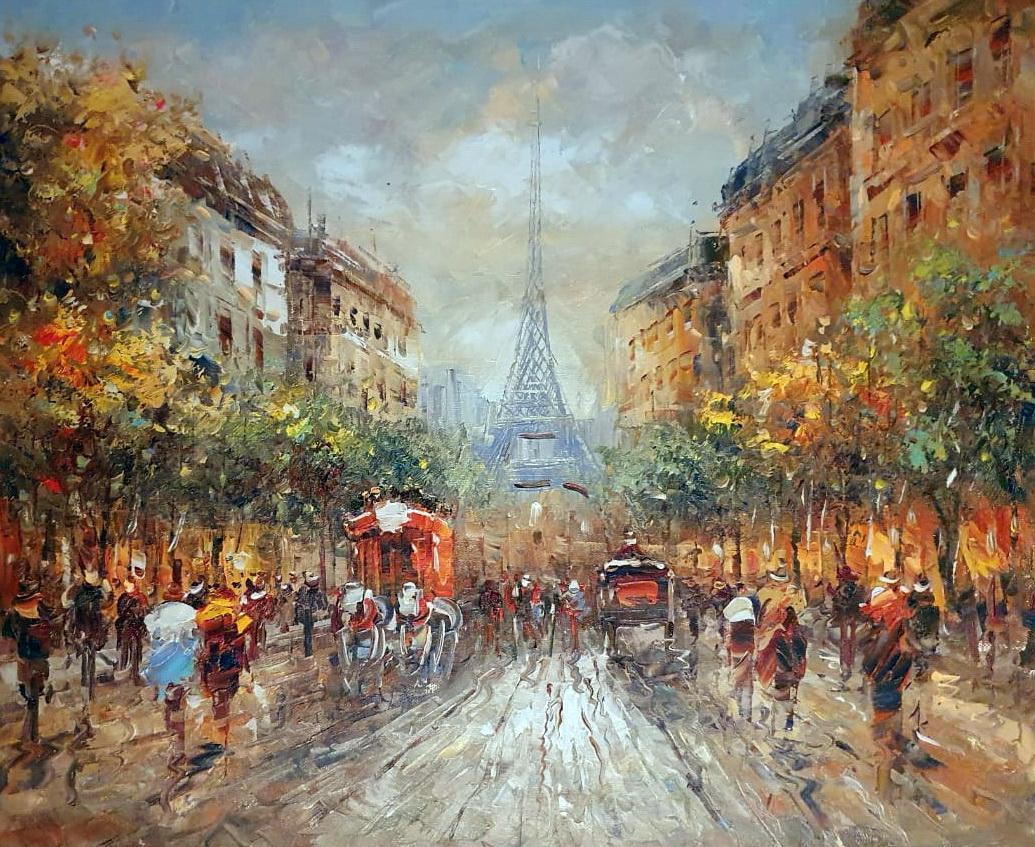 «Эйфелева башня» картина 50х60 арт.5ГР202