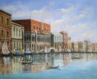 «Венеция» картина 50х60 арт.5ГР203
