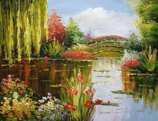 «В парке» картина 30х40 арт.3П046