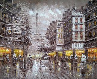 «Вечерний Париж» картина 50х60 арт.5М040