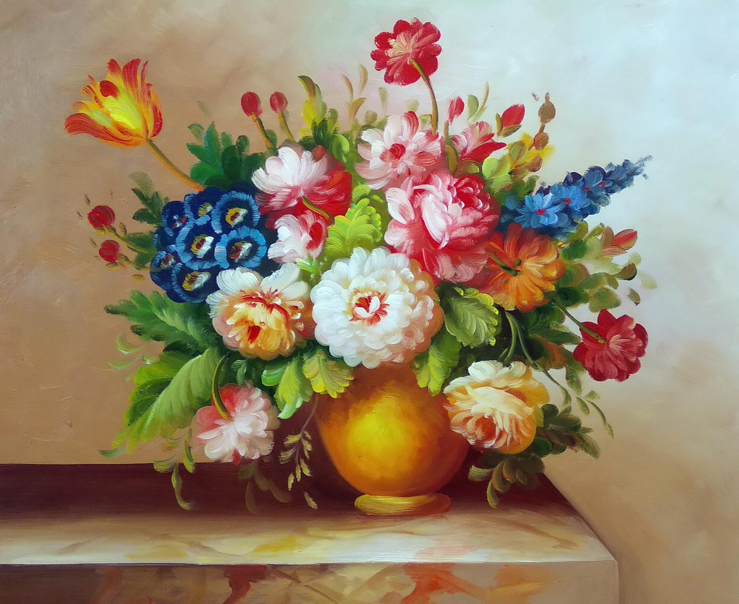 «Голландский букет» Картина 50х60 арт. 5Ц260