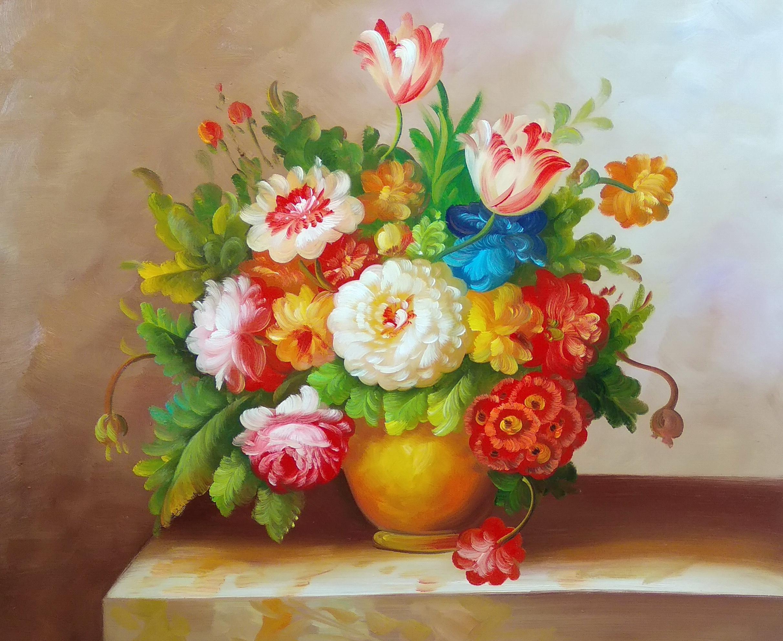 «Голландский букет» Картина 50х60 арт. Ц262