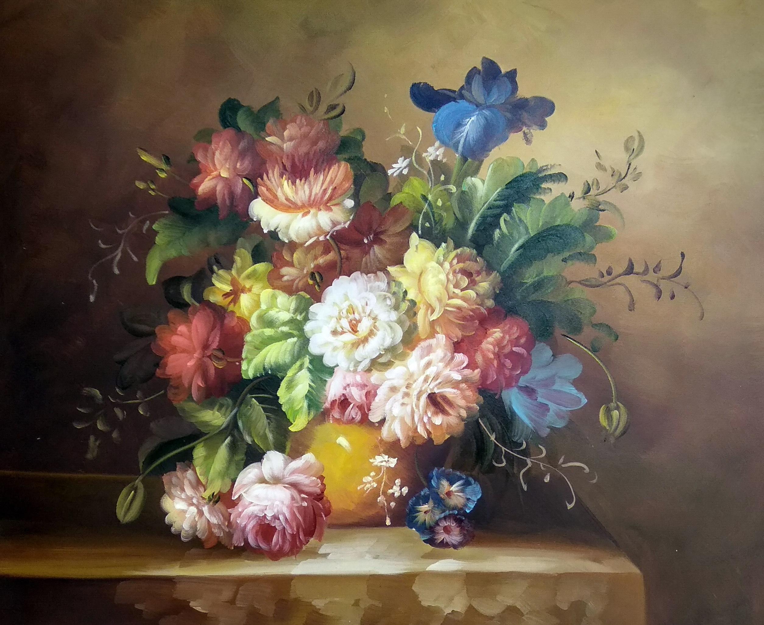 «Букет пионов» картина 50х60 арт.5ц280