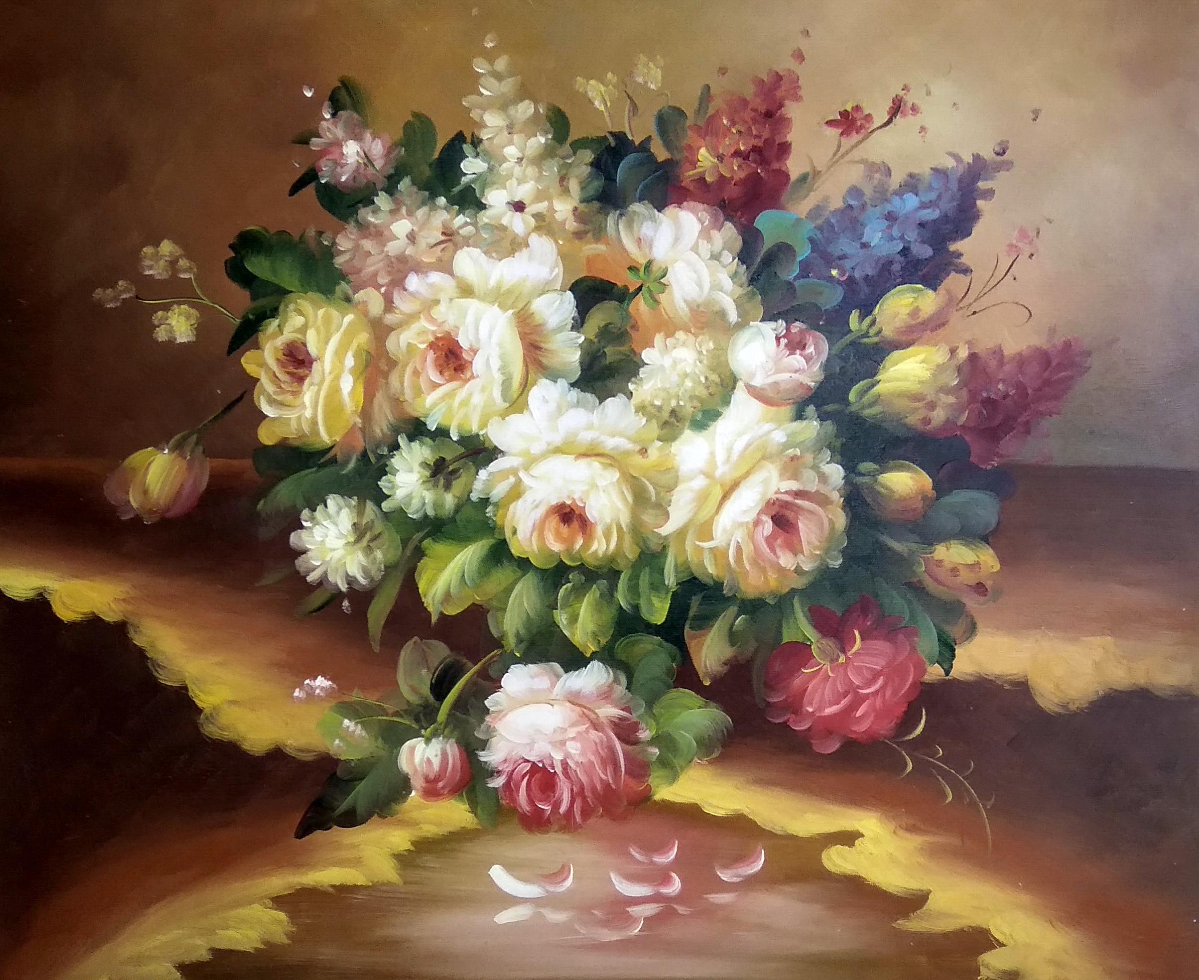 «Классический букет» картина 50х60 арт.5ц281
