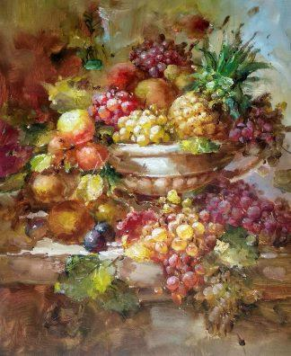 «Натюрморт с фруктами» картина 50х60 арт.5ц286