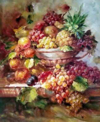 «Виноград в вазе» картина 50х60 арт.5ц288