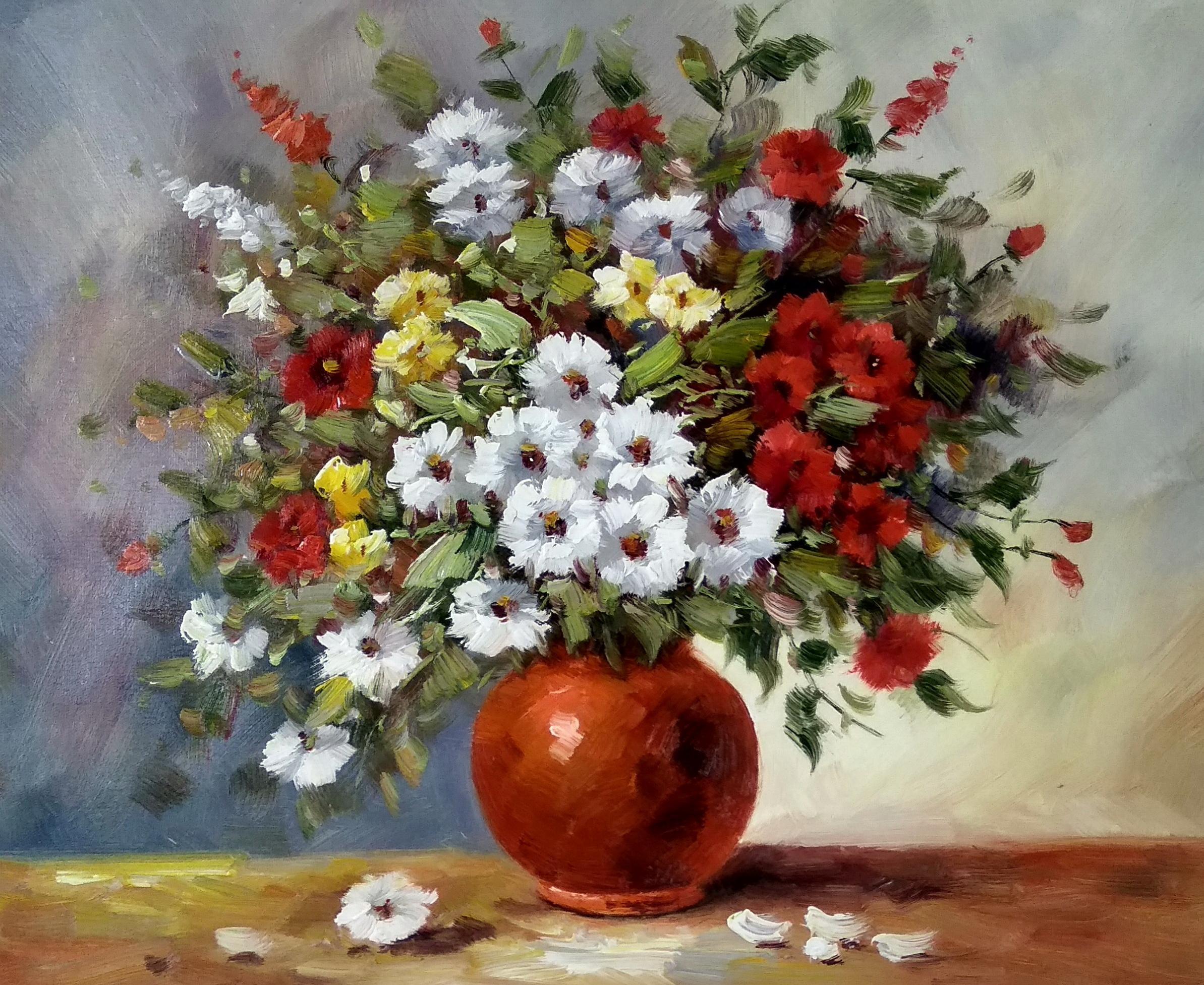 «Полевые цветы» картина 50х60 арт.5ц291