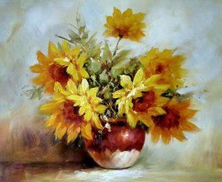 «Солнечный букет» картина 50х60 арт.5ц293