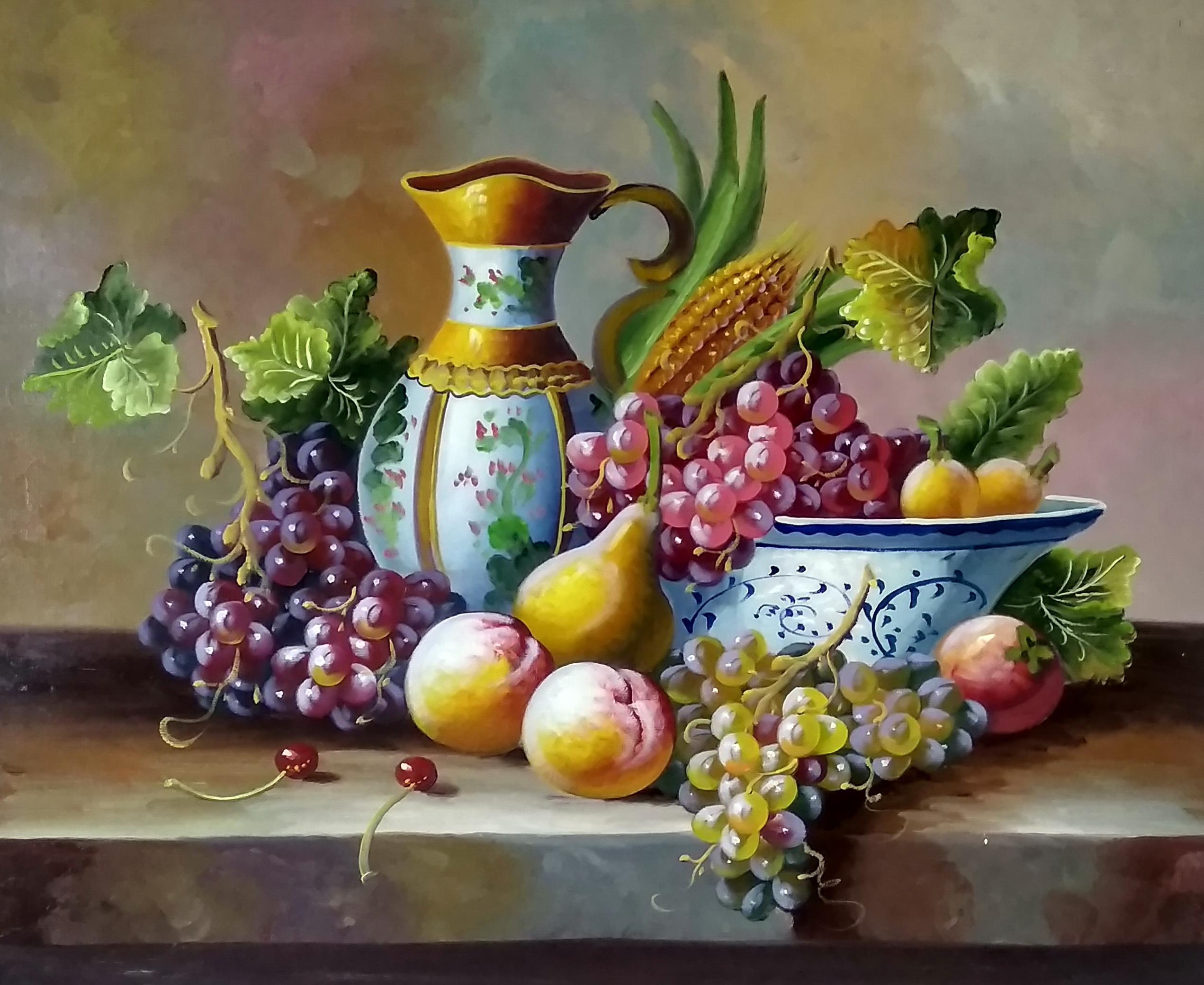 «Натюрморт с кувшином» картина 50х60 арт.5ц294