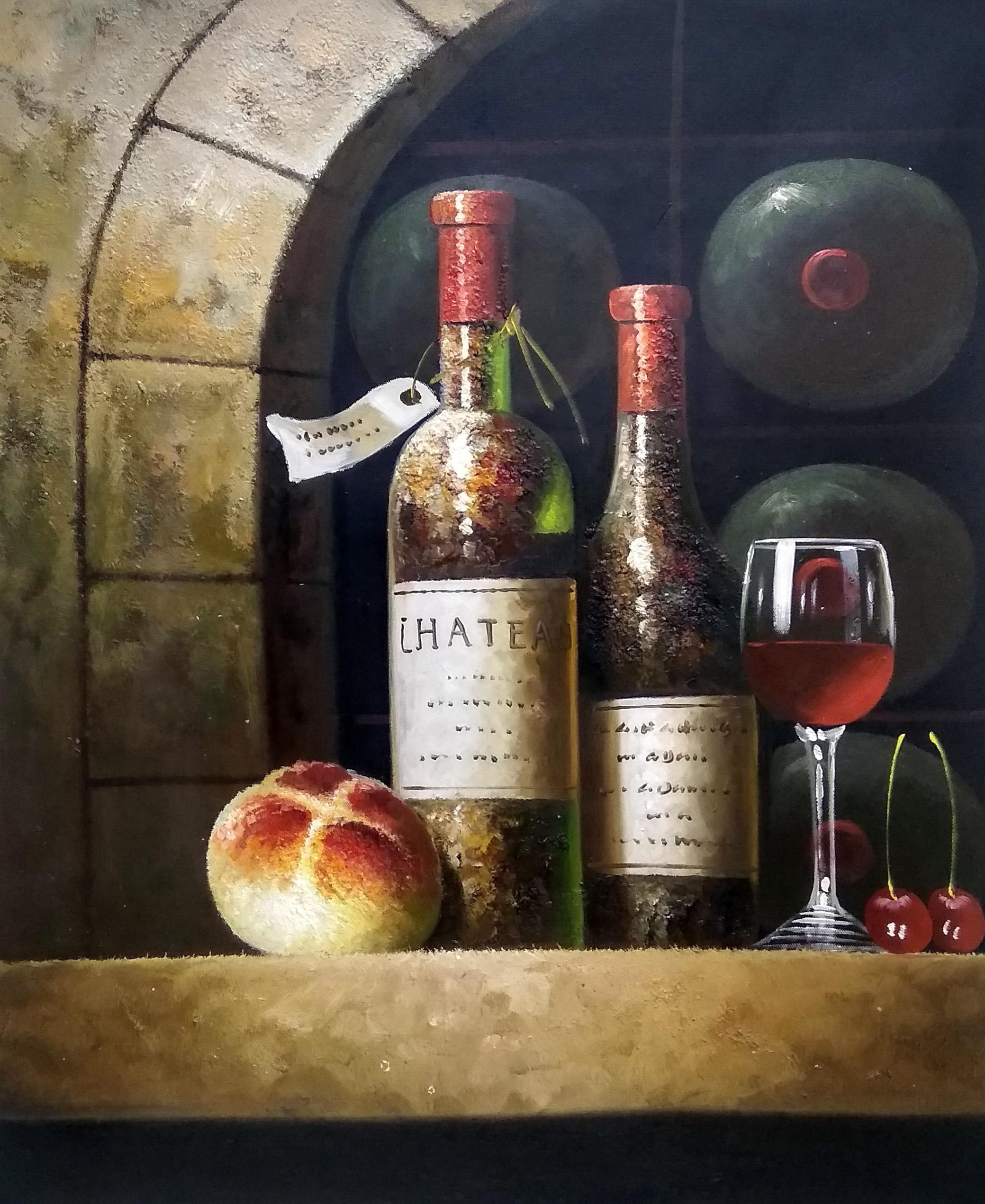 «Старое вино» картина 50х60 арт.5ц295