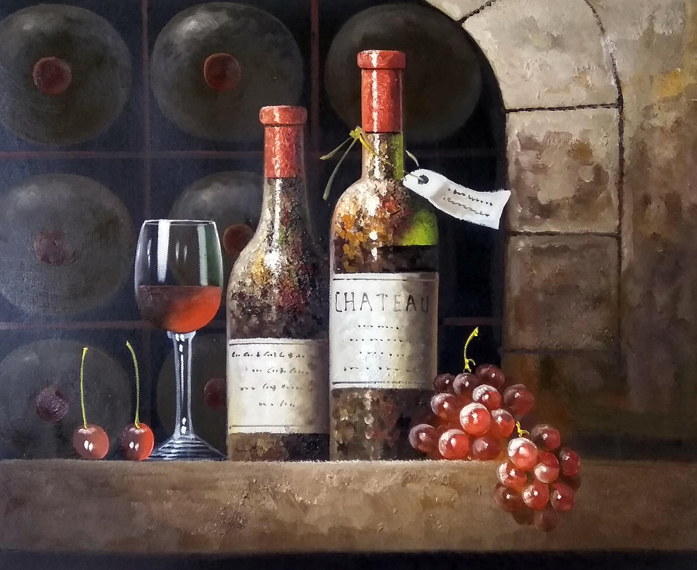 «Старое вино» картина 50х60 арт.5ц296