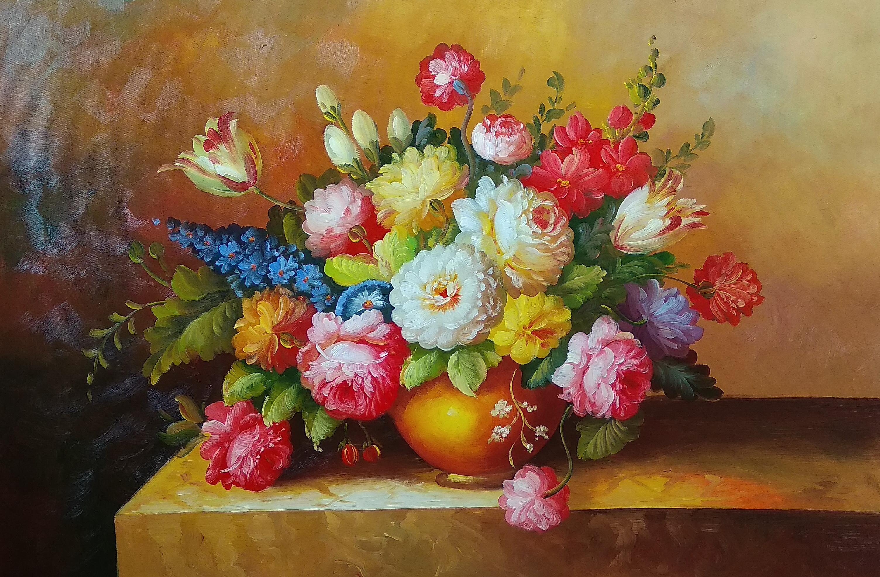 «Многоцветье» Картина 60х90 арт. Ц006