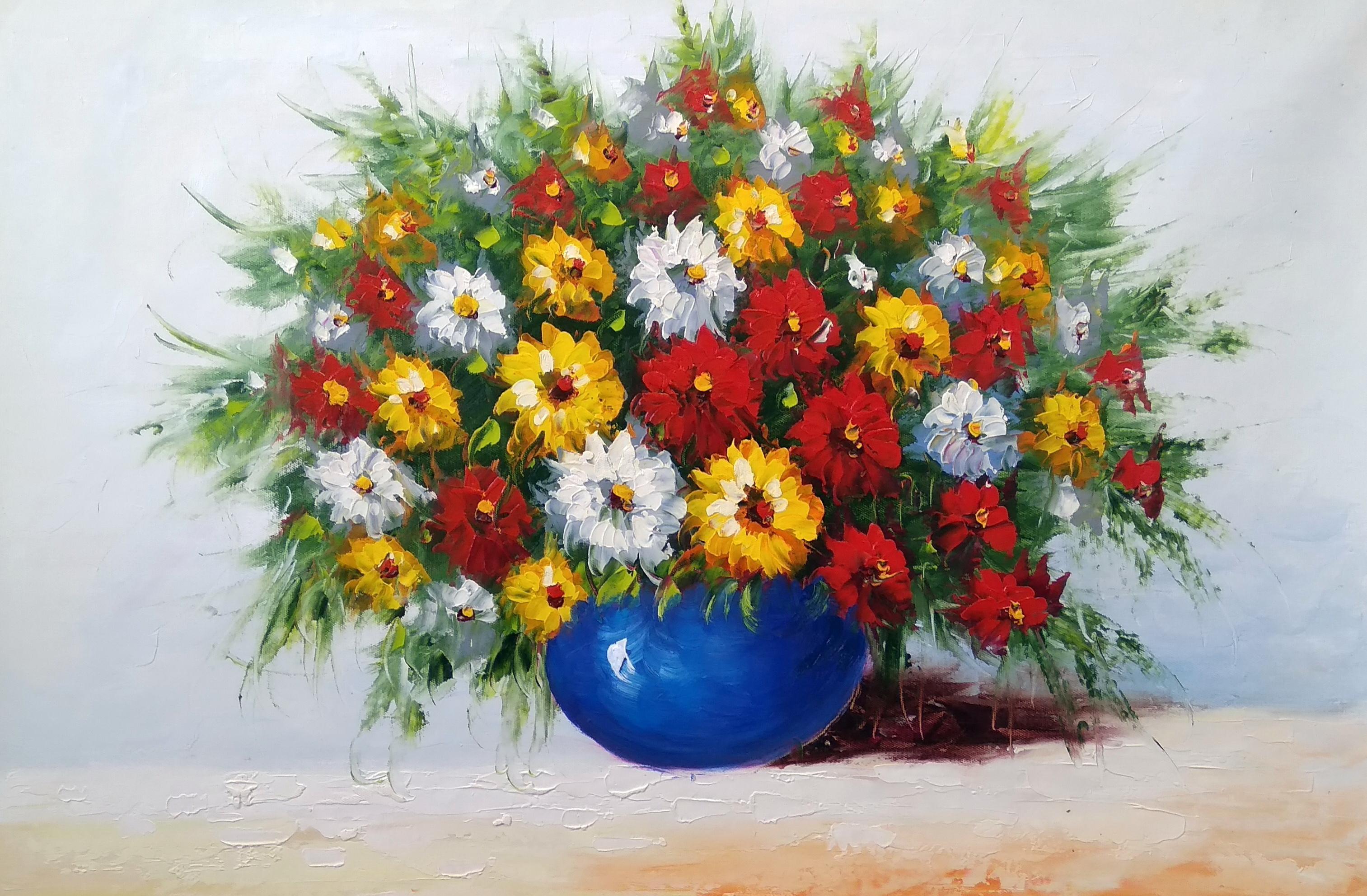 «Полевые цветы» Картина 60х90 арт. Ц008