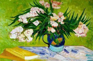«Цветы в стиле Ван Гога» картина 60х90 арт.9ц017