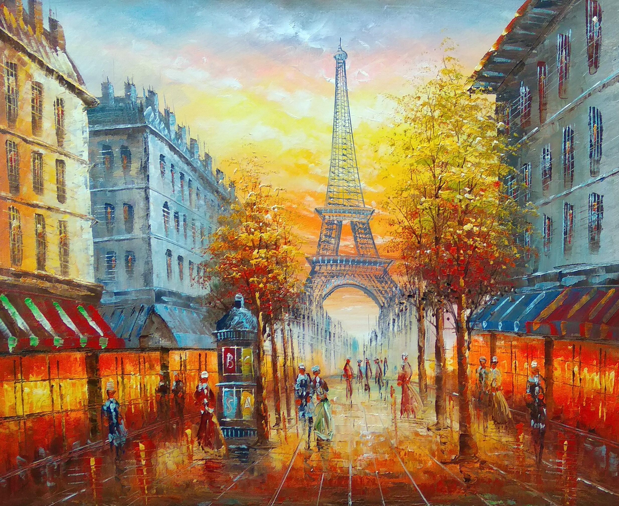 «Париж» Картина 50х60 арт. 5Гр253