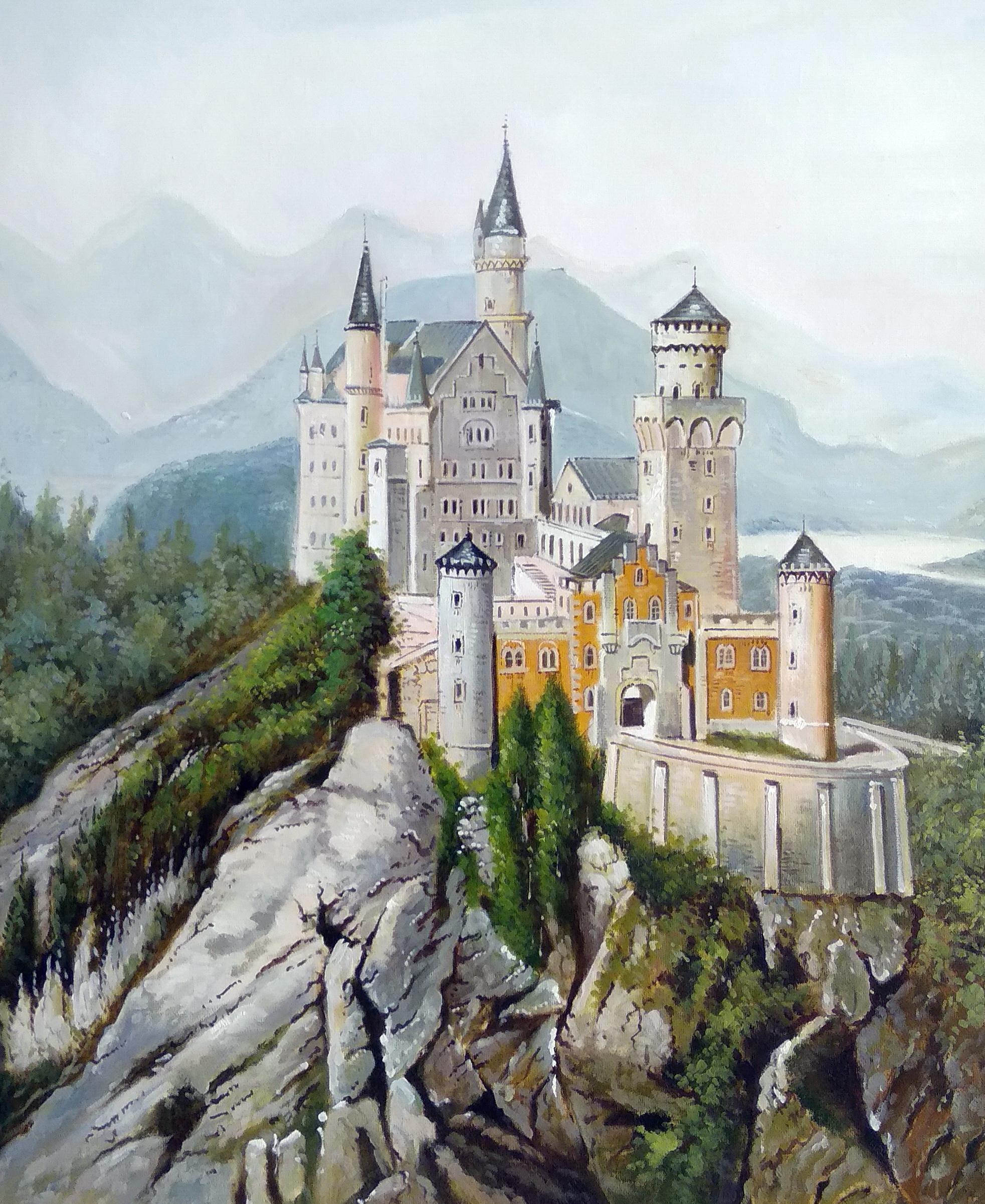 «Нойшванштайн» Картина 50х60 арт. Г258