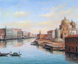 «Виды Венеции» Картина 50х60 арт. Г260