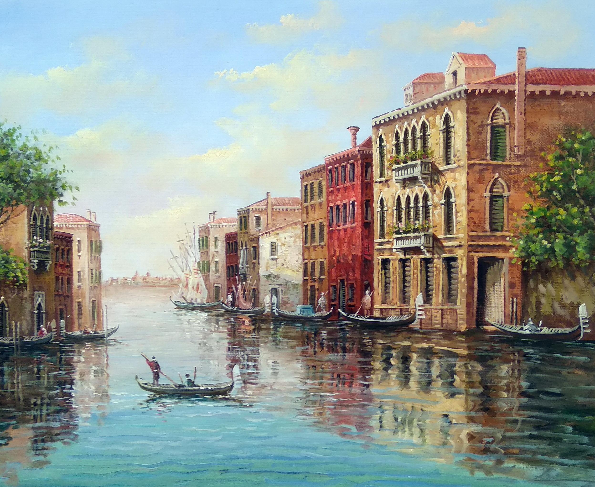 «Венеция» Картина 50х60 арт. Г261