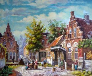 «Серия картин. Голландия 19 век» картина 50х60 арт.5гр276