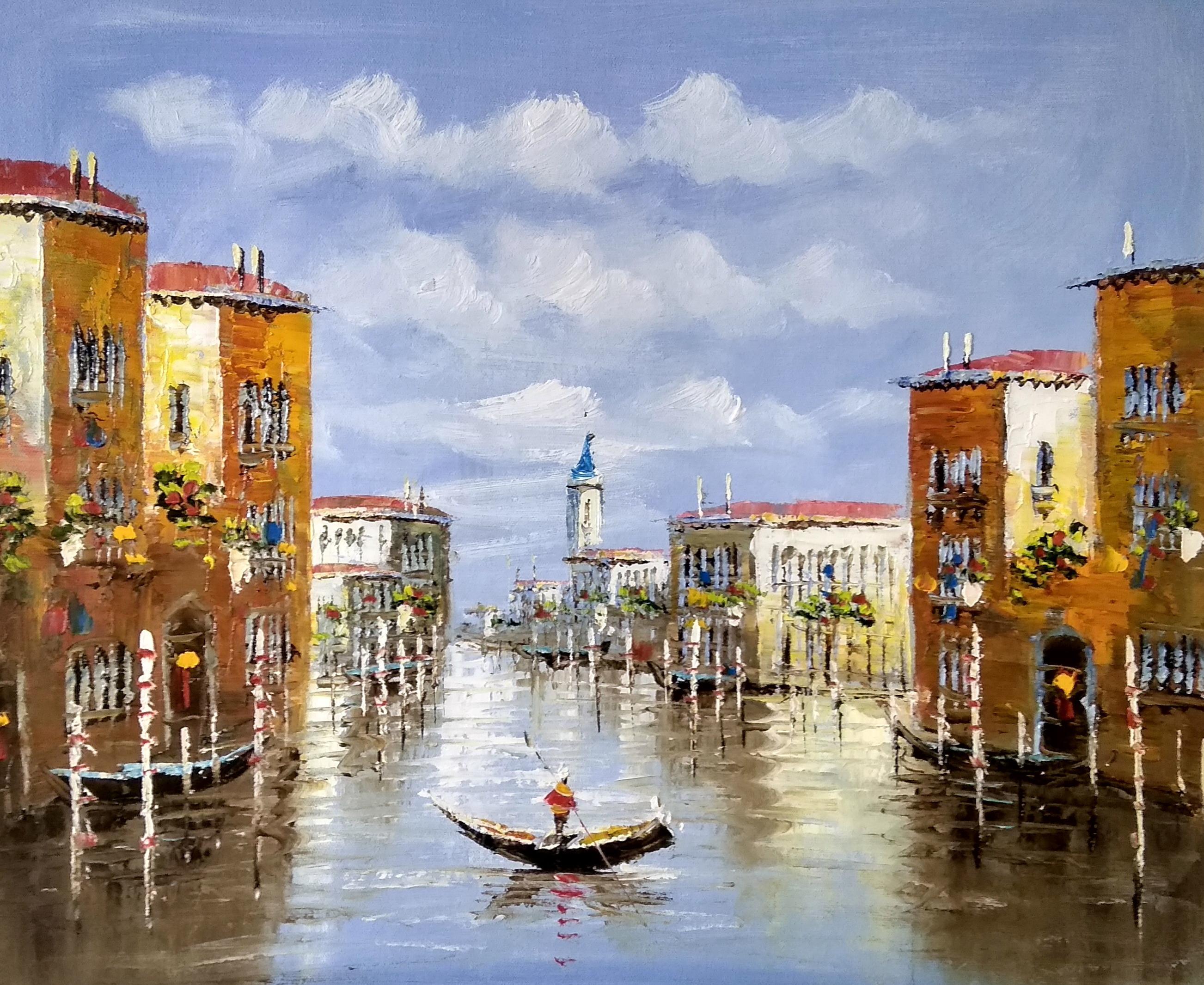 «Венеция. Гранд канал» картина 50х60 арт.5гр277