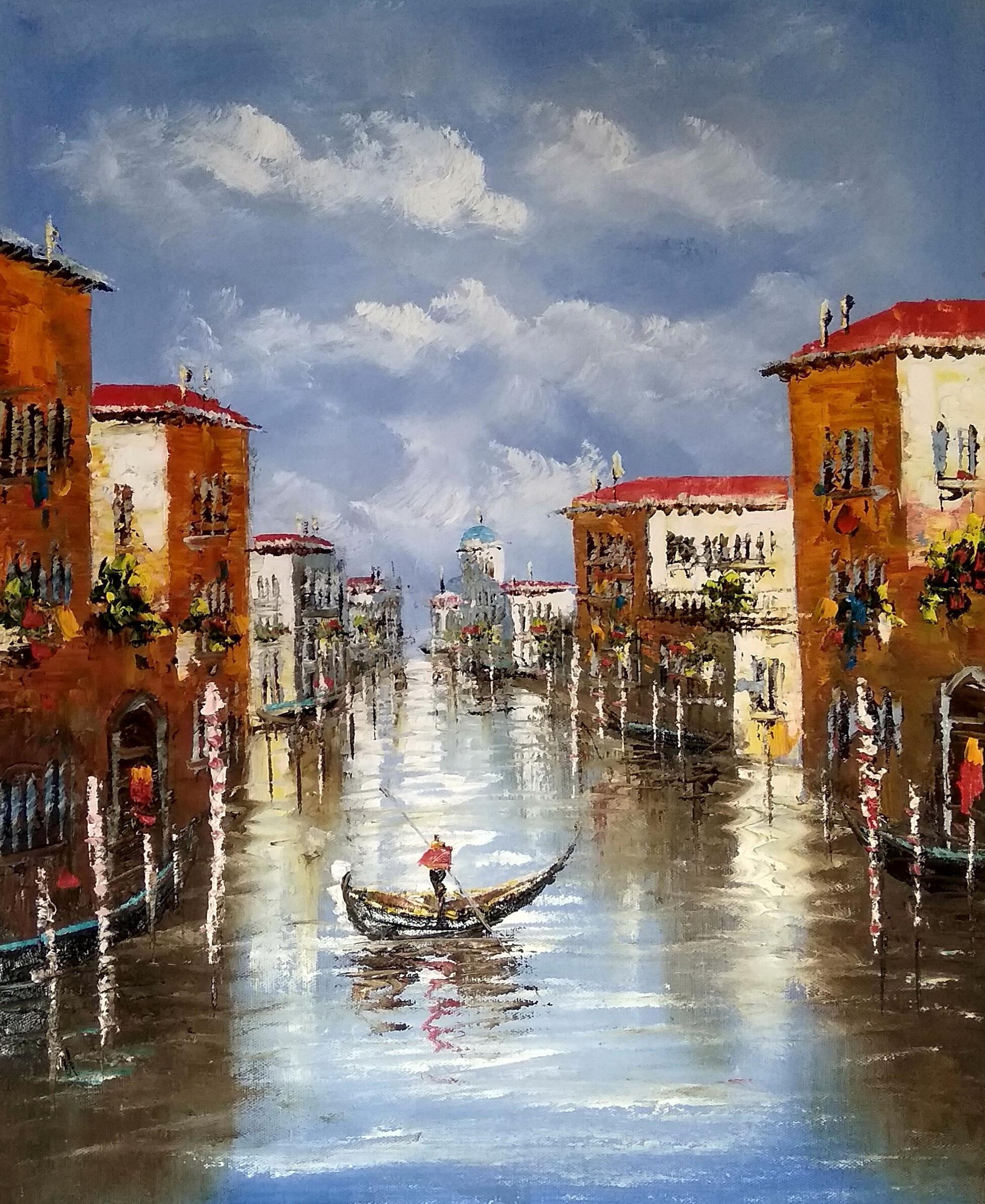 «Каналы Венеции» картина 50х60 арт.5гр278