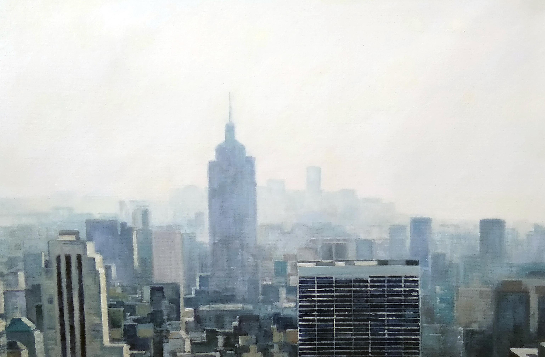 «Утром в Нью-Йорке» Картина 60х90 арт. 9Гр007