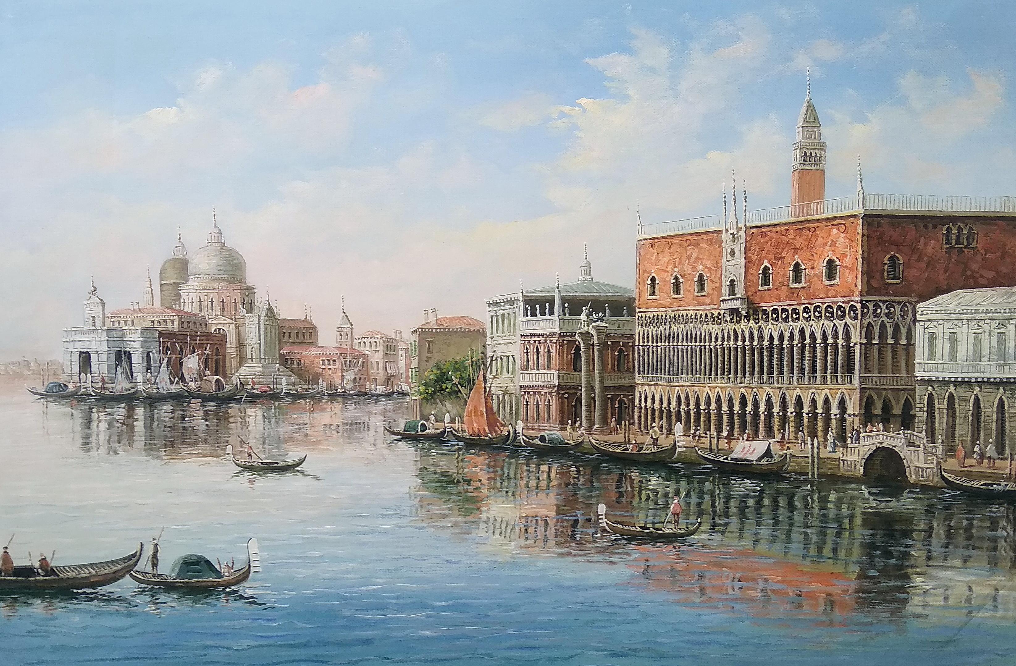 «Виды Венеции» Картина 60х90 арт. 9Гр009