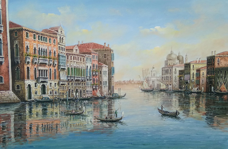 «Виды Венеции» Картина 60х90 арт. 9Гр010
