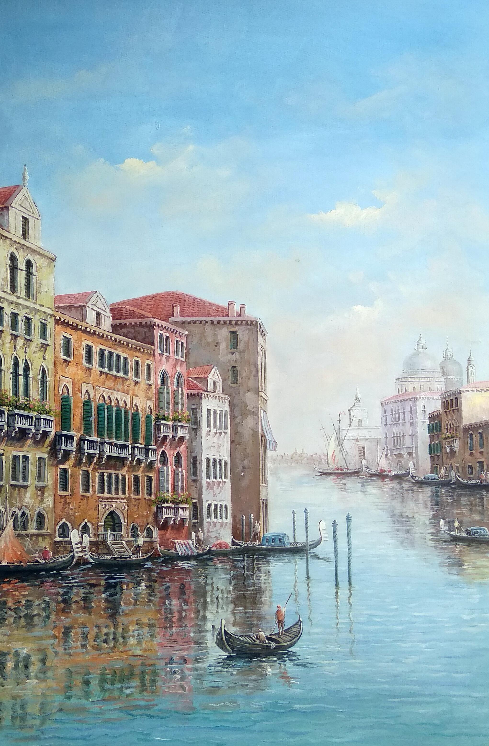 «Виды Венеции» Картина 60х90 арт. Г012
