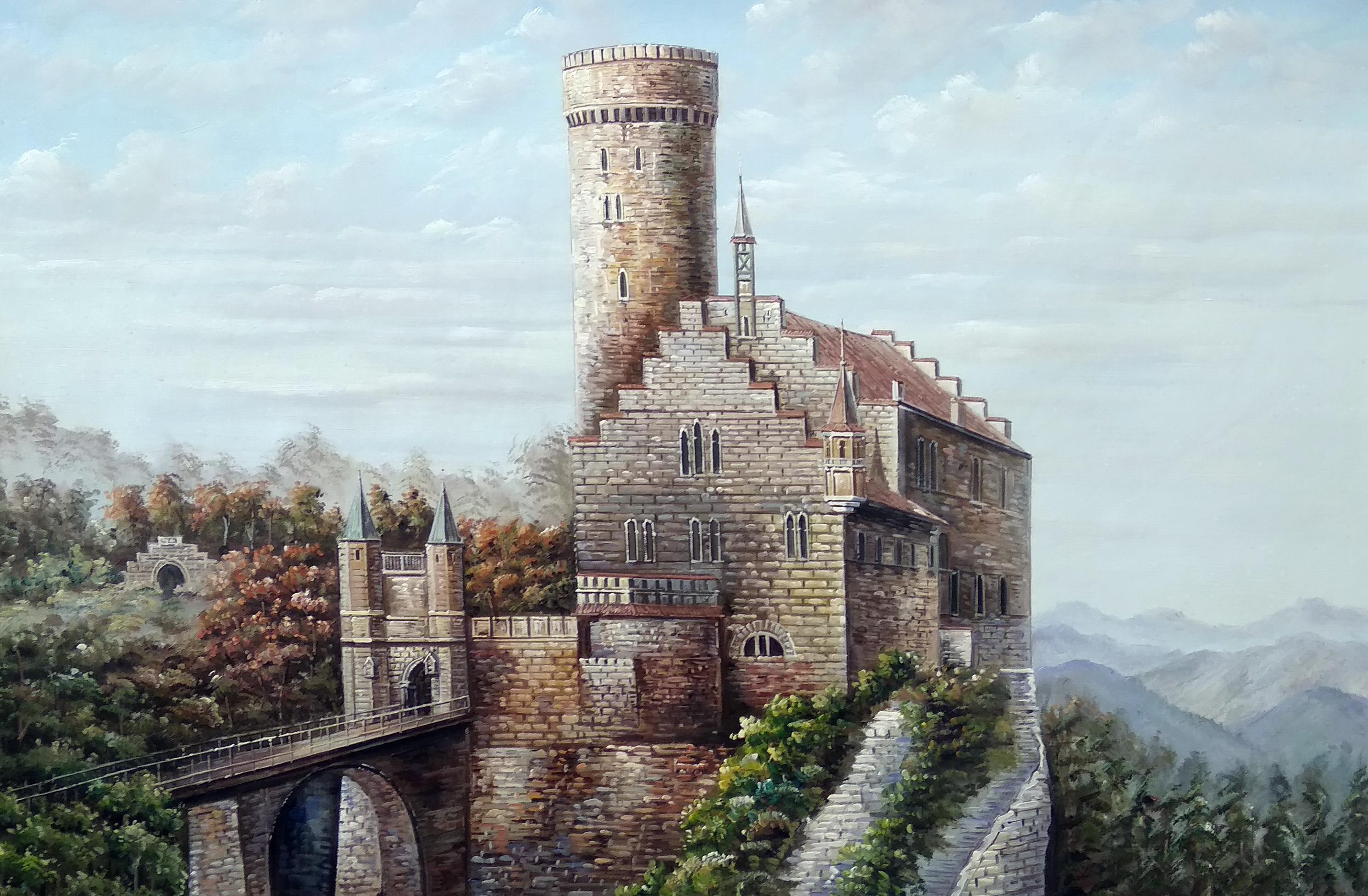 «Замок Лихтенштейн» Картина 60х90 арт. 9Гр014
