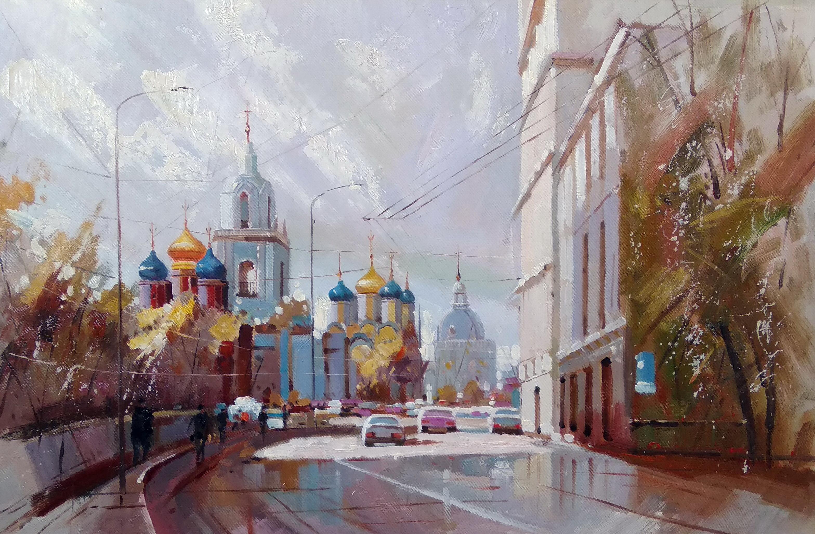 «Варварка» Картина 60х90 арт. Г017