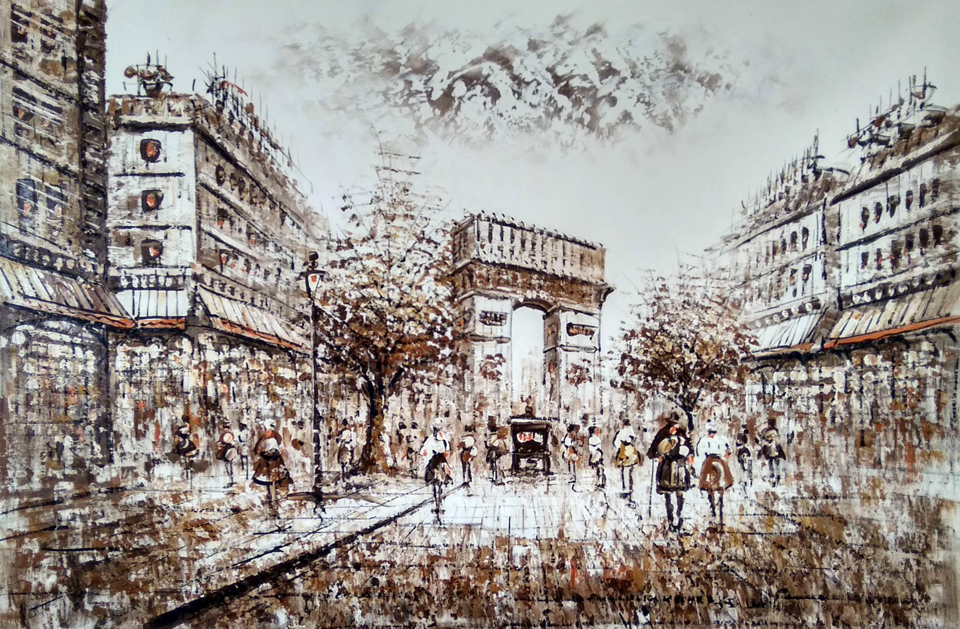 «Триумфальная арка» картина 60х90 арт.9гр019