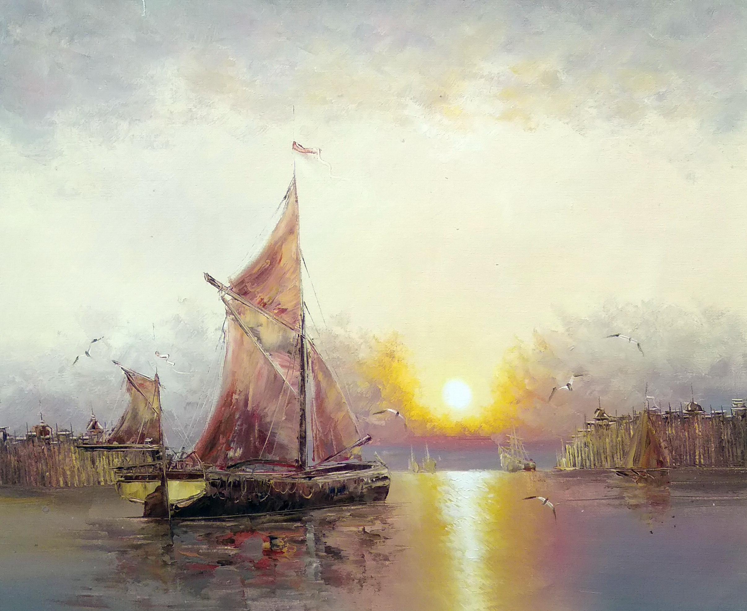 «Яхта» Картина 50х60 арт. К054