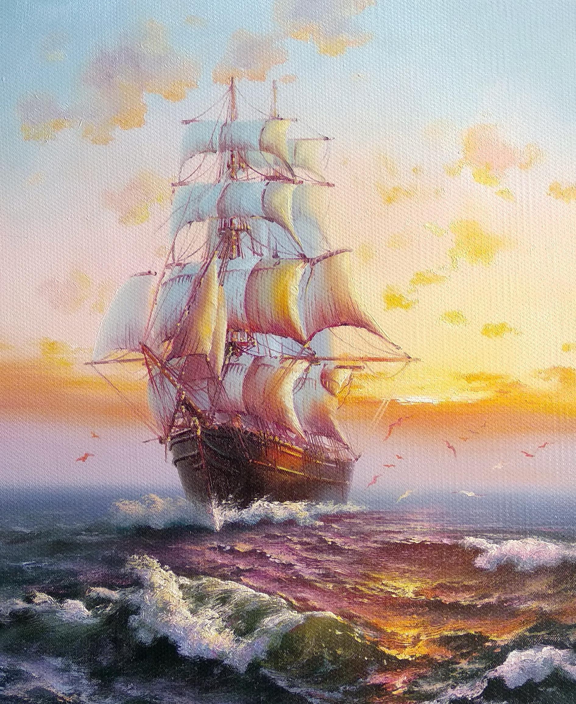 «На встречу мечте» Картина 50х60 арт. К056