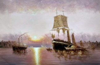 «Пристань» Картина 60х90 арт. 9К005
