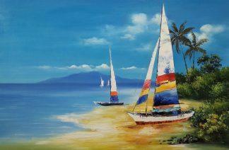«На островах» Картина 60х90 арт. К006