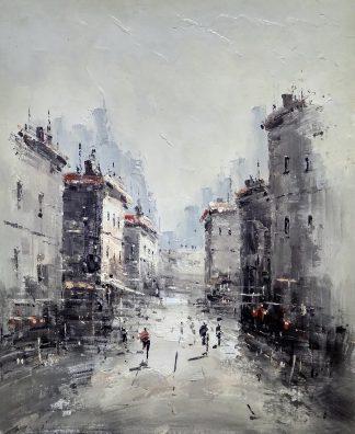 «Московские улицы» картина 50х60 арт.5м152