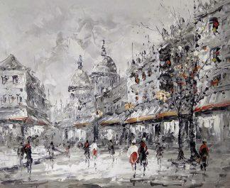 «Монмартр» картина 50х60 арт.5м156